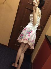 ミニフレアスカート・花柄・春物