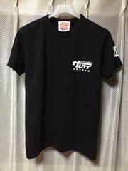 サムライジーンズ 自動車倶楽部 プリント 半袖Tシャツ Sサイズ 黒 リアルマッコイズ