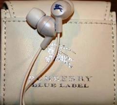 特別顧客限定★BURBERRY BLUE LABEL★ノベルティイヤフォン