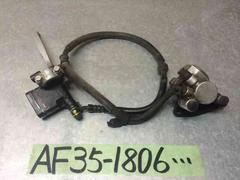 AF35 ホンダ ライブディオ ZX フロント ディスク ブレーキ AF28