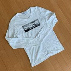 【美品】ロンT Brooklyn ホワイトシャツ