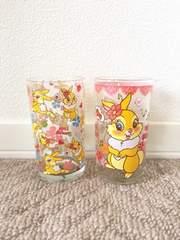 ディズニー ミスバニー グラス 2個セット 新品未使用品