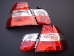 BMW 後期Mルック後期セダン用クリスタルテールランプ E46