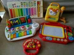 音系おもちゃ!アンパンマンなどピアノ