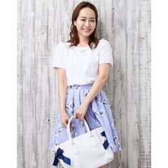 人気完売★イング★装飾袖シアートップス グレー/M 新品タグ付 未開封 INGNI