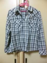 新品チェックシャツL