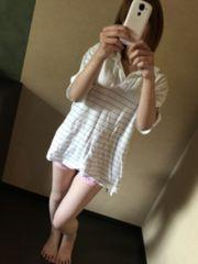 メンズ☆お部屋着Tシャツ・白
