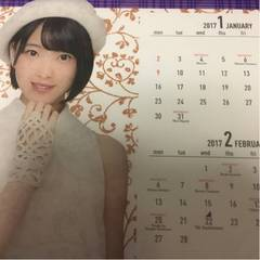 即決 公式 乃木坂46 2017年度 個別卓上カレンダー 堀未央奈 新品