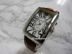 新品★腕時計 シルバーブラウン/フランクミュラー好きに