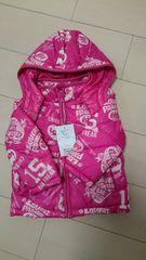 新品eaB ジャンパー80cm ピンク系