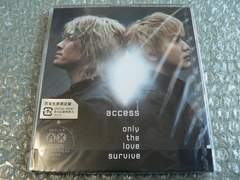 access【only the love survive】完全生産限定盤CD/新品未開封