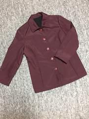 sports Run Robe TOKYO STYLE 濃赤紫 フリース×撥水ジャケット