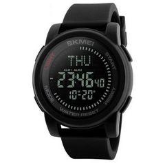 日本未発売 大人気ダイバーズウォッチ高級ブラックデジタル防水腕時計