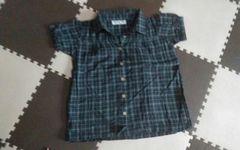 120 ELFIN DOLL KIDS 可愛いシャツブラウス 美品