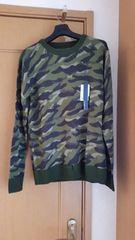 ¥8,856 J.FERRYジェイフェリーカモフラージュ柄セーター L