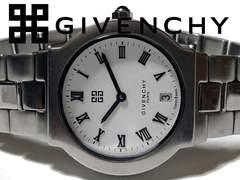 良品 1スタ★ジバンシィ/Givenchy【スイス製】レア 腕時計