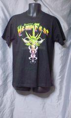 HEMPFEST ヘンプフェスト Tシャツ M 未使用品/大麻 ガンジャ