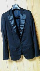 国内正規レア Dior Hommeディオールオム スモーキングジャケット黒 最小38 ブラック