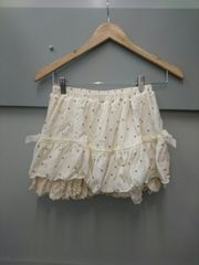 LIZ LISA☆ドット柄ニットスカパン