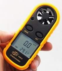 測定単位切替OK■デジタル風速計アネモメーター