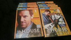 《Dr.HOUSE》 シーズン4 ×  8本  中古