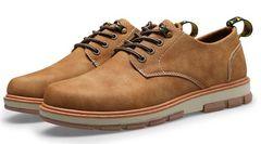 メンズ  シューズ 靴  キャラメル色 サイズ42/26〜26.5cm