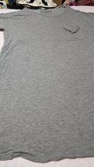ロングTシャツグレー