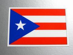 1■プエルトリコ国旗ステッカー1枚 シール ☆即買!■