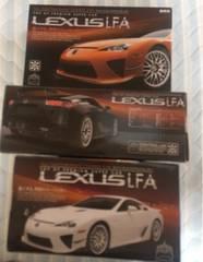 レクサス LFA 全3カラーセット オレンジ 黒 白