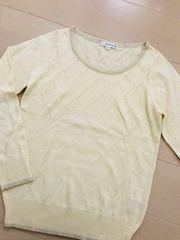 ☆KLEIN PLUS ☆春物*薄手セーター
