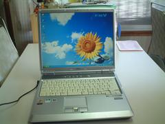 すぐ使える XP 15型 DVDマルチ 無線LAN FMV-NB40S