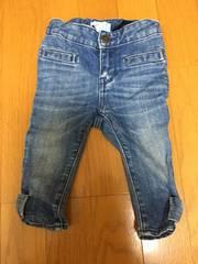 babyGAP 女の子 裾がリボンで可愛いジーンズ