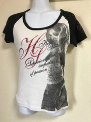 ★CORNFLAKE ラグラン×Tシャツ  L★