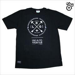 即決新品LRG Tシャツ L◆黒ストリートスケーターB系ヒップホップ2016