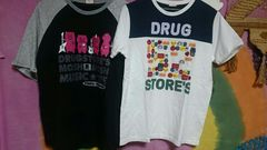 Drugstores*F4*ブタさんTシャツ2枚セット