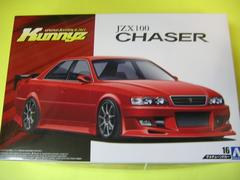 アオシマ 1/24 ザ・チューンドカー No.16 Kunny'z JZX100 チェイサー ツアラーV '98