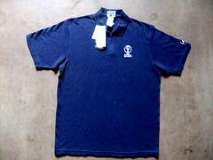 adidas 2002KOREA & JAPAN FIFA記念ポロシャツ L ネイビー 紺