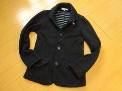 タイトスタイルテーラードジャケット:ブラック.Sサイズ