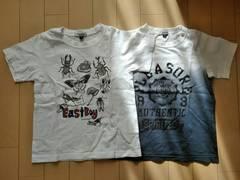 East Boy☆110cmTシャツ2枚組
