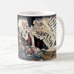 歌川国芳『相馬の古内裏(そうまのふるだいり)』のマグカップ2