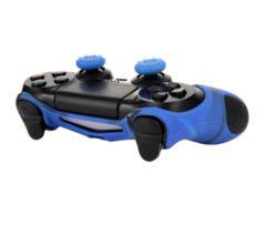 PS4対応用 コントローラー シリコンカバー(ブルー)