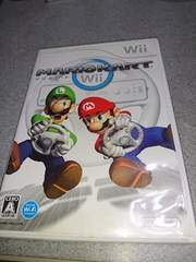 Wii!箱説あり!マリオカートWii!のソフト!
