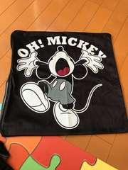 ミッキー クッションカバー 新品