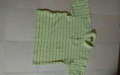 MIXART Mサイズ イエロー ボーダー 半袖ポロシャツ 美品