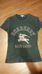 BURBERRY「プリントTシャツ/黒」バーバリー