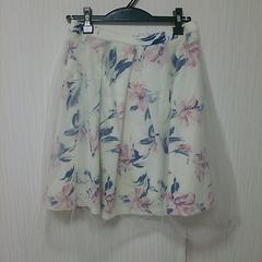 新品 GRL グレイル レース 花柄 スカート M