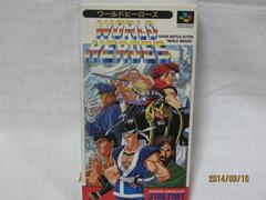 新品レアスーパーファミコン ワールドヒーローズ