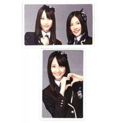 ラミネート 両面カード●SKE48●松井玲奈&松井珠理奈 D●新品