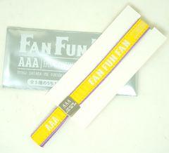 AAA 日高光啓 黄色 FAN FUN FAN ブレスバンド ARENA TOUR 2019