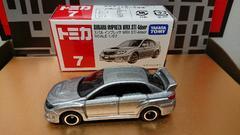 ★赤箱トミカ7★スバル インプレッサWRX STI 4door★